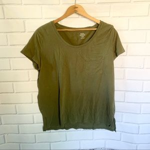 OLD NAVY. Green short sleeve. Size SP